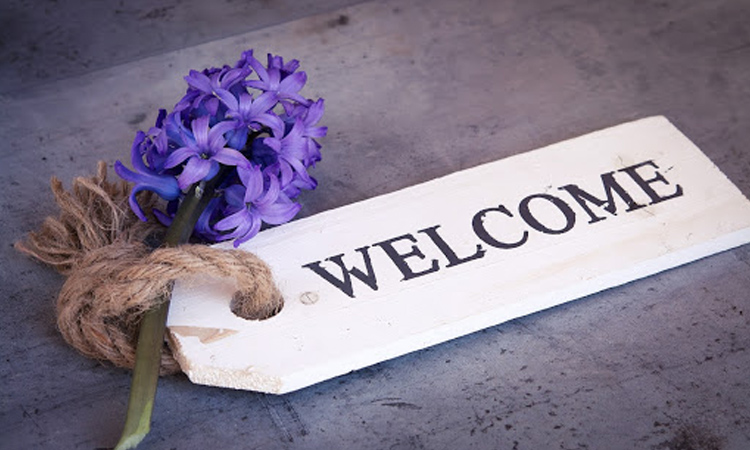 A Big Welcome to You!
